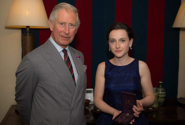 Receiving the badge of office from HRH The Prince of Wales // July 2015 // © Gareth Everett
